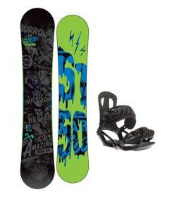 5150 Movement Snowboard 158 w/ Head NX One Snowboard Bindings