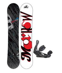 Morrow Fury Snowboard 159 w/ Burton P1.1 Snowboard Bindings