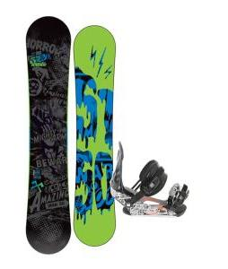 5150 Movement Snowboard 161 w/ Ride LX Snowboard Bindings