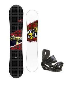 Rossignol Contrast Snowboard 150 w/ Sapient Stash Snowboard Bindings