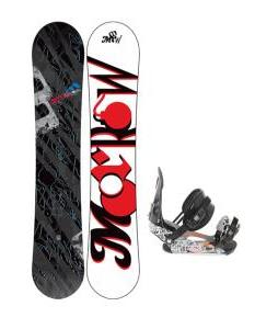 Morrow Fury Wide Snowboard 159 w/ Ride LX Snowboard Bindings
