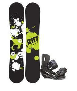 2117 Of Sweden Identity Snowboard 152 2014 w/ Sapient Fusion Snowboard Bindings