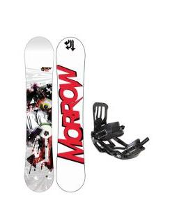 Morrow Radium Wide Snowboard 163 w/ Salomon Pact Snowboard Bindings