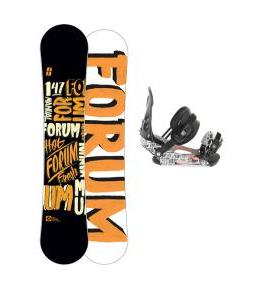 Forum Manual Snowboard 147 w/ Ride LX Snowboard Bindings