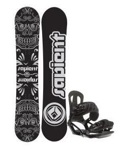 Sapient Outlaw Snowboard 150 2014 w/ Head NX One Snowboard Bindings