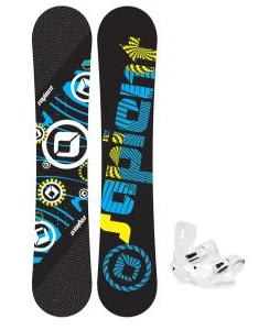 Sapient Cog Snowboard 148 2014 w/ Sapient Zeus Snowboard Bindings