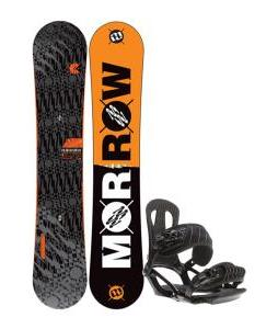 Morrow Clutch Snowboard 155 w/ Head NX One Snowboard Bindings