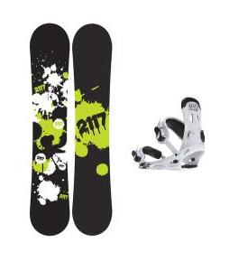 2117 Of Sweden Identity Wide Snowboard 159 2014 w/ 2118 Of Sweden Storm Snowboard Bindings 2014