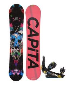 Capita Mindblower LTD Snowboard 155 w/ Rome S90 Snowboard Bindings