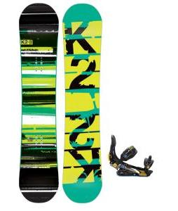 K2 Playback Wide Snowboard w/ Rome S90 Snowboard Bindings