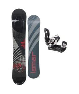 Lamar Mission Snowboard 157 w/ LTD LT35 Snowboard Bindings