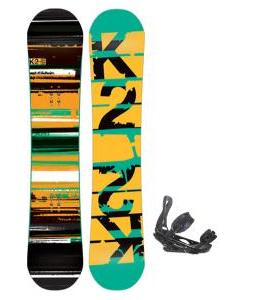 K2 Playback Wide Snowboard w/ Burton P1.1 Snowboard Bindings