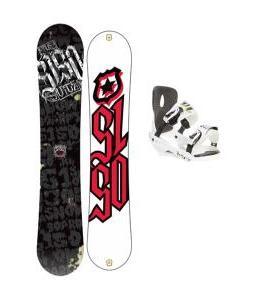 5150 Vice Snowboard 159 w/ Sapient Stash Snowboard Bindings
