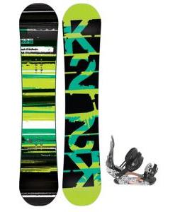 K2 Playback Snowboard w/ Ride LX Snowboard Bindings