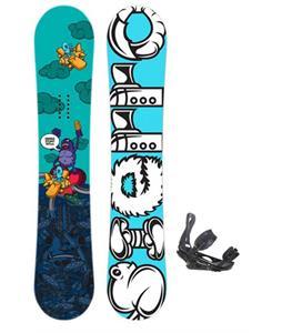 Ride Agenda Snowboard w/ Ride EX Snowboard Bindings