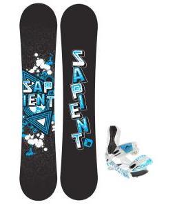 Sapient Trust Wide Snowboard 155 2014 w/ Lamar Wrap Snowboard Bindings
