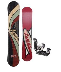 Lamar Blazer Snowboard 148 w/ LTD LT35 Snowboard Bindings