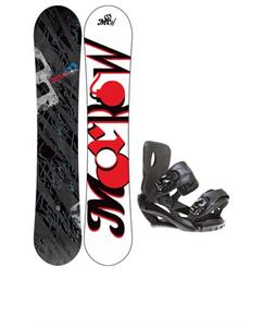Morrow Fury Wide Snowboard 163 w/ Sapient Fusion Snowboard Bindings