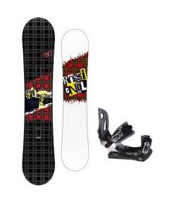 Rossignol Contrast Snowboard 150 w/ Lamar MX30 Snowboard Bindings