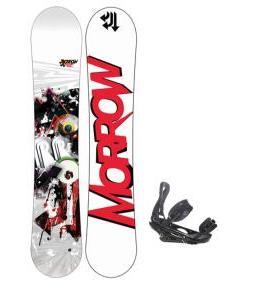 Morrow Radium Wide Snowboard 163 w/ Burton P1.1 Snowboard Bindings