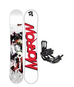 Morrow Radium Snowboard 151 w/ Salomon Pact Snowboard Bindings
