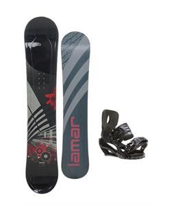 Lamar Mission Snowboard 163 w/ Sapient Stash Snowboard Bindings