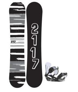 2117 Of Sweden Fader Snowboard 154 2014 w/ 2118 Of Sweden Storm Snowboard Bindings 2014