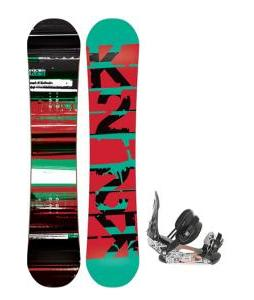 K2 Playback Wide Snowboard w/ Ride LX Snowboard Bindings
