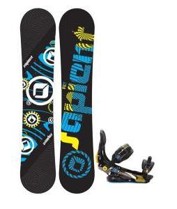 Sapient Cog Snowboard with Rome S Ninty Snowboard Bindings