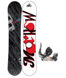 Morrow Fury Wide Snowboard One sixty three with Ride LX Snowboard Bindings