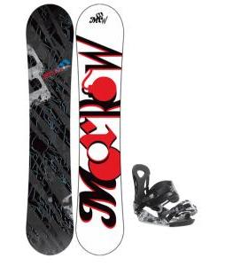 Morrow Fury Wide Snowboard 163 w/ Ride LX Snowboard Bindings