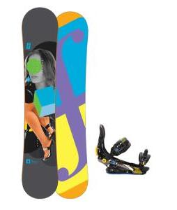 Forum Youngblood Doubledog Snowboard 152 w/ Rome S90 Snowboard Bindings