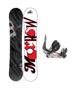 Morrow Fury Wide Snowboard 166 w/ Ride LX Snowboard Bindings