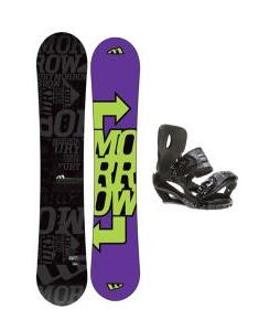 Morrow Fury Snowboard 151 w/ Sapient Stash Snowboard Bindings
