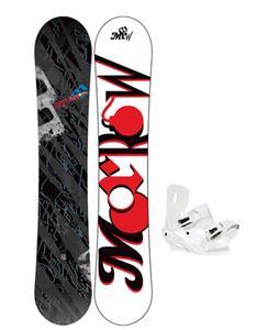 Morrow Fury Wide Snowboard 159 w/ Sapient Zeus Snowboard Bindings