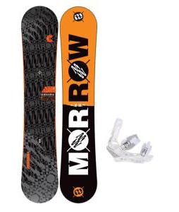Morrow Clutch Snowboard 158 w/ Burton Triad Snowboard Bindings