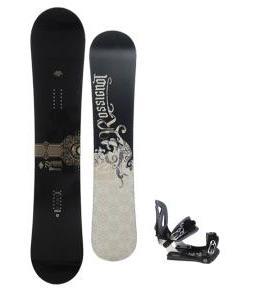 Rossignol Sultan Snowboard 150cm w/ Lamar MX30 Snowboard Bindings
