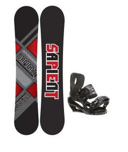 Sapient Future Snowboard 153 2014 w/ Sapient Stash Snowboard Bindings