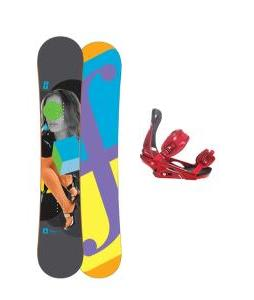 Forum Youngblood Doubledog Snowboard 148 w/ Rome S90 Snowboard Bindings