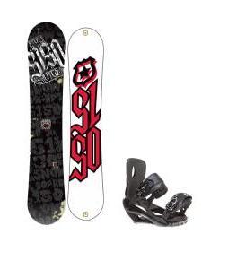 5150 Vice Snowboard 159 w/ Sapient Wisdom Snowboard Bindings