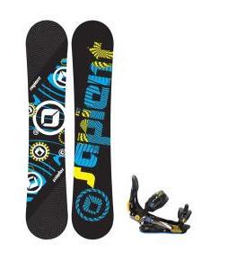 Sapient Cog Snowboard 161 2014 w/ Rome S90 Snowboard Bindings