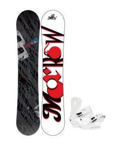 Morrow Fury Snowboard 159 w/ Sapient Zeus Snowboard Bindings