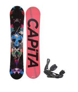 Capita Mindblower LTD Snowboard 153 w/ Burton P1.1 Snowboard Bindings