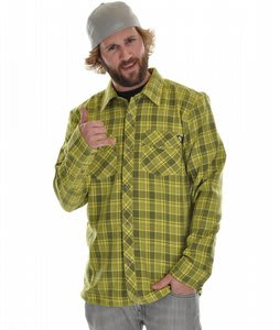 Quiksilver Husqie Crew Shirt Retro Yellow