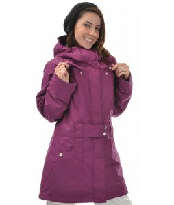Roxy Bicycle Snowboard Jacket Very Berry