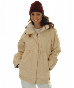 Roxy Tram Snowboard Jacket Dandelion/White