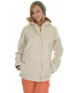 Roxy Snowcat Snowboard Jacket Pearl