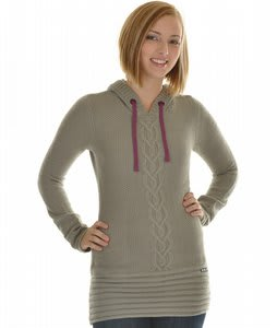 Roxy Icing Sweater Grey Lace