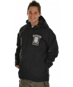 Quiksilver Batfox Snowboard Jacket Black