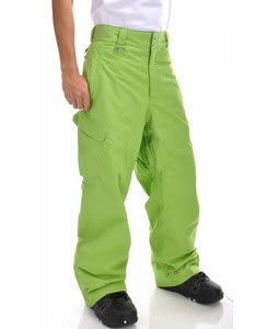 Quiksilver Scorps Snowboard Pants Pea Green